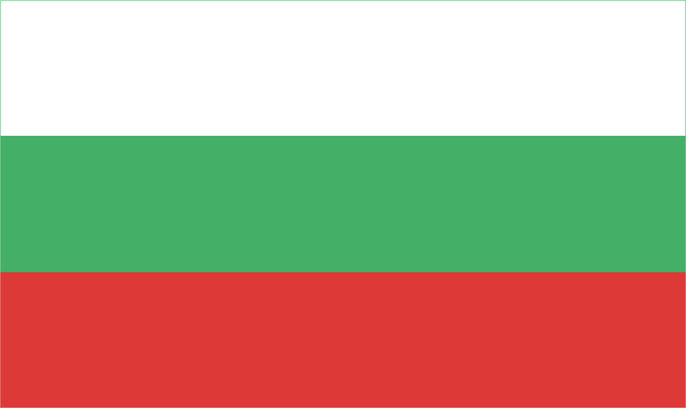 Design of the Bulgaria 900x600mm Flag
