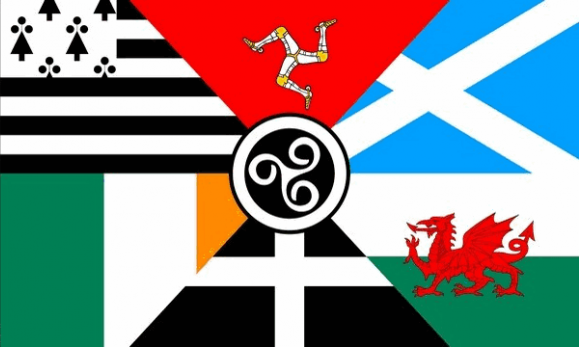 Design of the Celtic Nations 1500x900mm Flag
