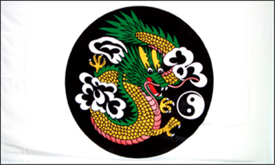 Design of the Chinese Dragon Circle 1500x900mm Flag