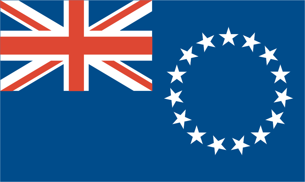 Design of the Cook Islands 1500x900mm Flag