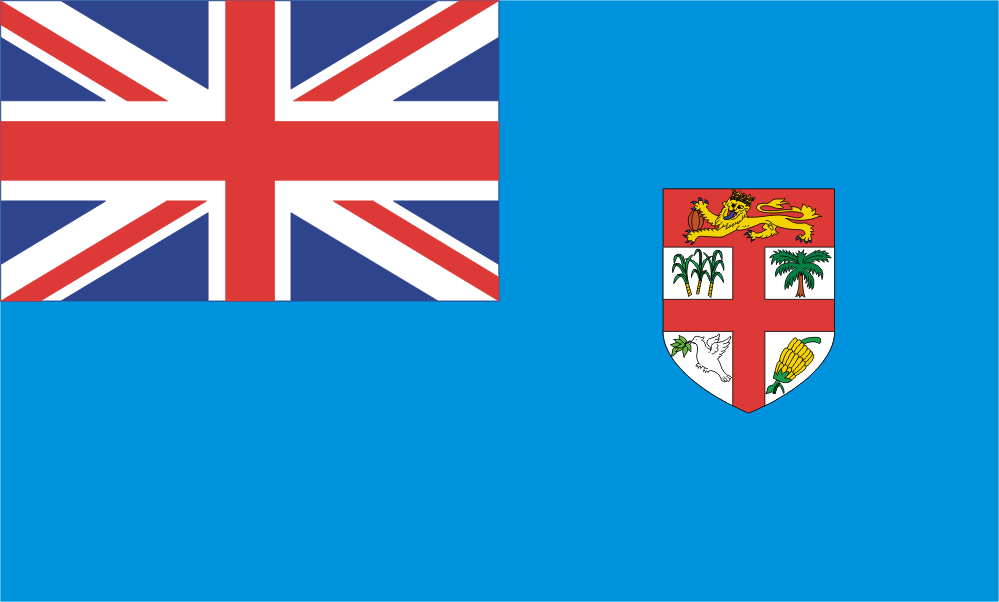 Design of the Fiji 900x600mm Flag