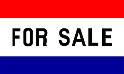Flag image for For Sale