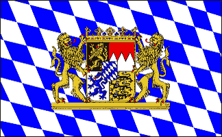 Design of the Germany Bavaria Lion 1500x900mm Flag