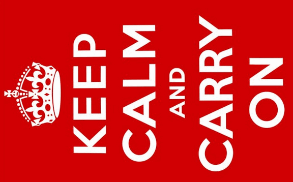 Flag image for Keep Calm and Carry On