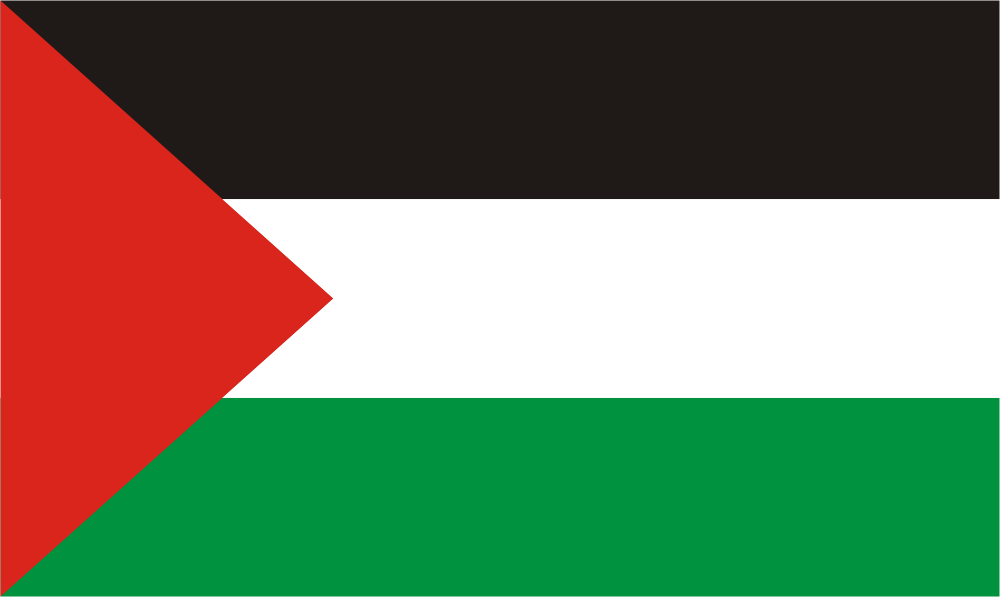 Design of the Palestine 124x82mm Decal