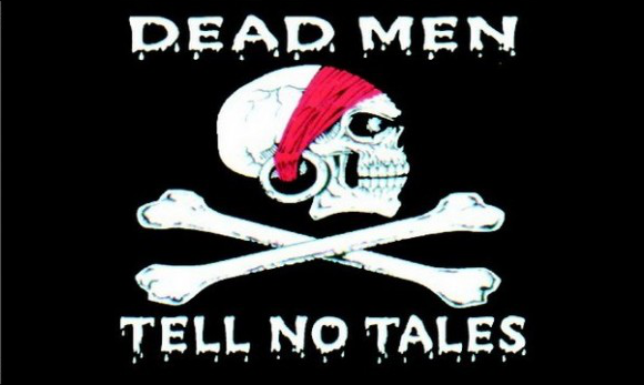 Flag image for Dead Men Tell No Tales