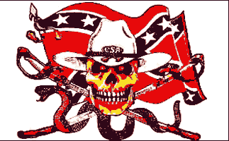 Flag image for Confederate Rebel with Snake