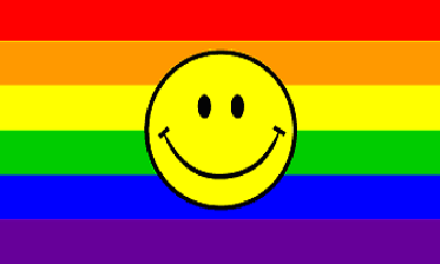 Flag image for Rainbow Yellow Smiley