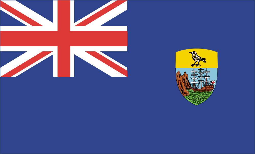 Design of the Saint Helena 1500x900mm Flag