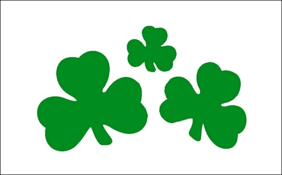 Flag image for Ireland Shamrock