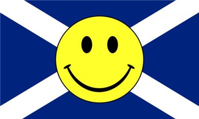 Flag image for Smile Face Yellow On Saint Andrews