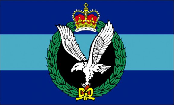 Design of the UK British Army Air Corps 1500x900mm Flag