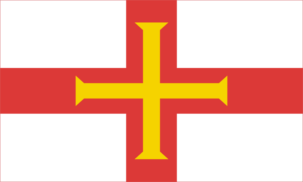 Design of the Guernsey 1500x900mm Flag