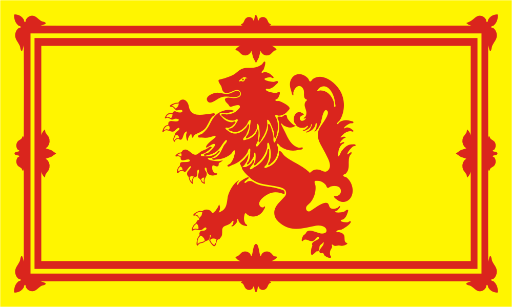 Flag image for UK  Lion Rampant of Scotland