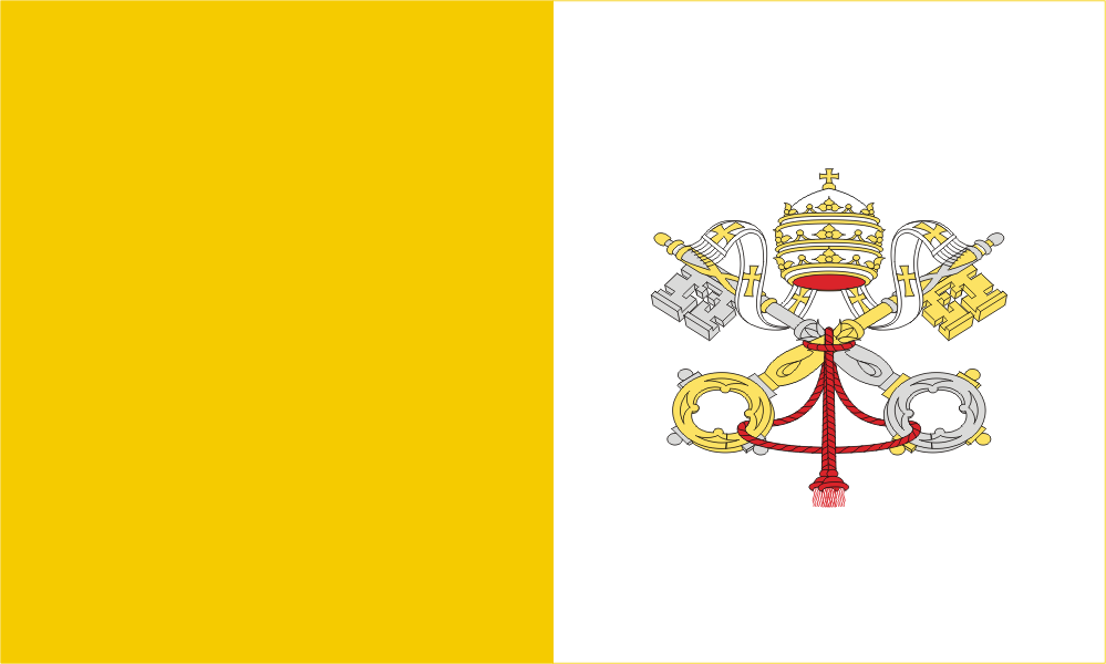 Flag image for Holy See (Vatican City)