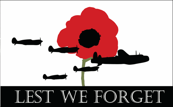 Flag image for Lest We Forget Airforce