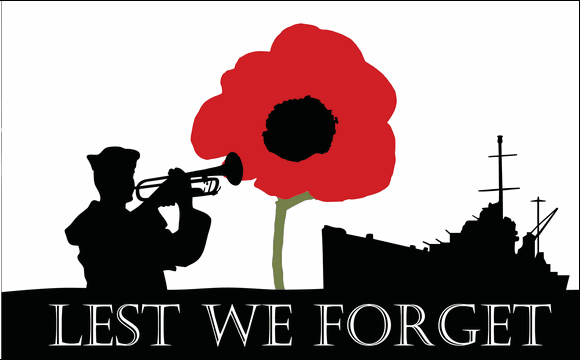 Flag image for Lest We Forget Navy