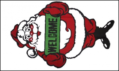 Flag image for Santa Welcome