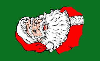 Flag image for Santa Vertical