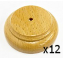 Image for Handwaver Child Base Wood 1 Hole Pack of 12