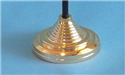 Image for Desk Flag Base Gold 1 Hole