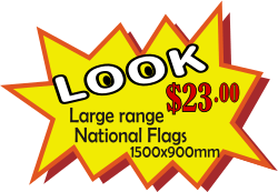 All the flags 1500x900mm are only $22